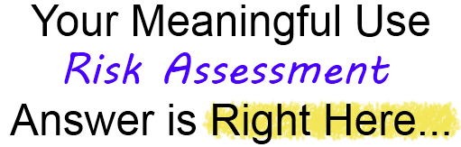 meaningful use risk assessment awlp